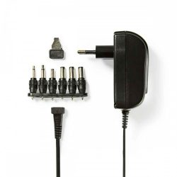 NBK - Univerzális AC adapter, 3-12V, 1500mAh, Nedis ACPA002