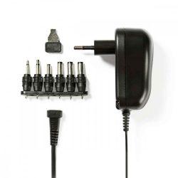 NBK - Univerzális AC adapter, 3-12V, 1000mAh, Nedis ACPA001