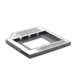 """KELLÉK - Átalakító 5.25 Slim SATA keret 1x2.5"""" SATA HDD-hez, Gembird, 9.5mm"""