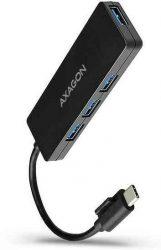 USB - HUB, 4 port, passzív, USB 3.2, Type-C, Axagon HUE-G1C