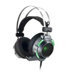 HKM - Mikrofonos fejhallgató, Spirit of Gamer ELITE H30, fekete-zöld