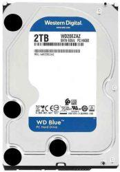 W20 - 2 Tb WD 5400 256M SATA3 WD20EZAZ Blue