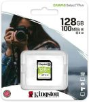 MK - SD kártya 128Gb Kingston SDXC UHS-I U3 Canvas Select Plus (100/85)
