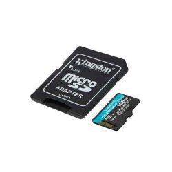 MK - MicroSD kártya 128Gb Kingston CL10 Canvas Go Plus A2 + adapter (170/90)