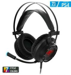 HKM - Mikrofonos fejhallgató, Spirit of Gamer ELITE H70, PS4/PC, 7.1