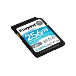 MK - SD kártya 256Gb Kingston SDXC UHS-I U3 Canvas Go Plus (170/90)