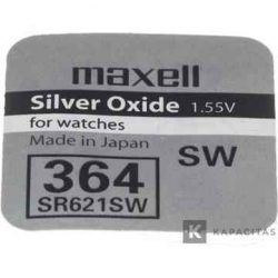 ELEM - Gombelem SR621SW, Maxell