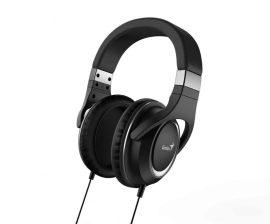 HKM - Mikrofonos fejhallgató, Genius HS-610, fekete