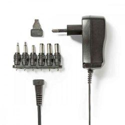 NBK - Univerzális AC adapter, 3-12V,   600mAh, Nedis ACPA006