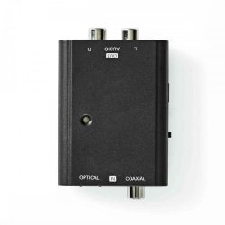 HK - Konverter, Nedis ACON2509BK Digitális Audio to RCA Konverter