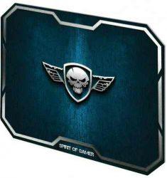 EP - Egérpad, Spirit of Gamer Winged Skull, kék, 295x235x3mm