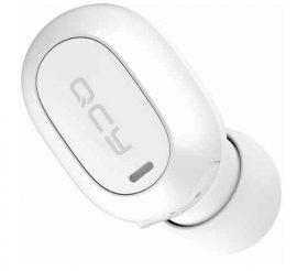 HKM - Bluetooth headset, QCY Mini 2 Bluetooth mono, fehér