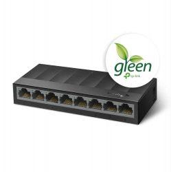 HA - TP-Link LS1008G 8port 10/100/1000 gigabit switch, műanyag házas
