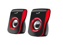HFG - Genius SP-Q180 hangfal, fekete-piros, 6W