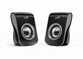 HFG - Genius SP-Q180 hangfal, fekete-szürke, 6W