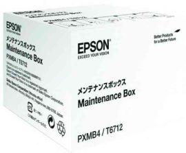PPE - Epson T6712 Maintenance Box, WF-6090/6590/8010DW, 75k