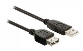 KÁBEL - USB 2.0 hosszabbító kábel  3m