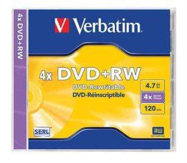 CID - Verbatim DVD+RW 4,7GB 4x újraírható dvd