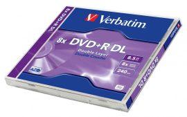 CID - Verbatim DVD+R 8,5GB 8x kétrétegű / dual layer DVD lemez