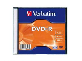 CID - Verbatim DVD-R 4,7GB 16x vékony tok