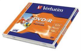 CID - Verbatim DVD-R 4,7GB 16x nyomtatható